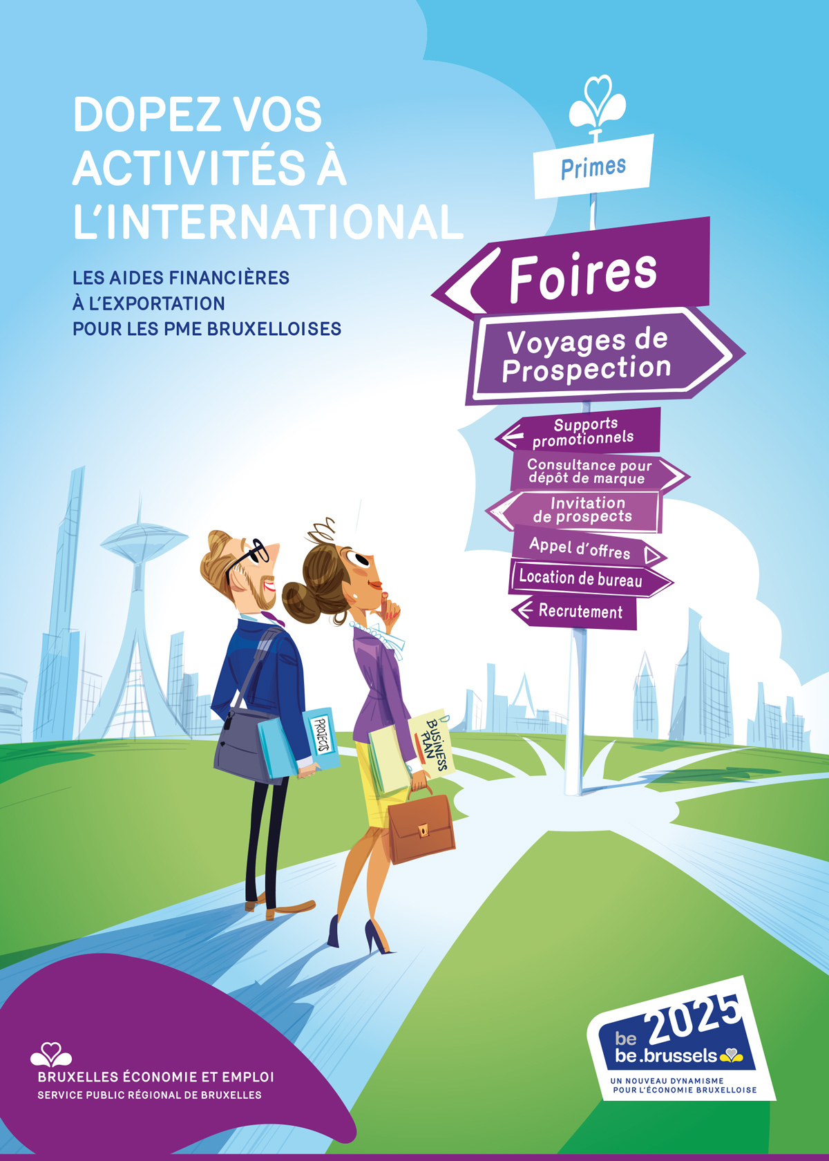 Brochure aides à l'exportation 2018